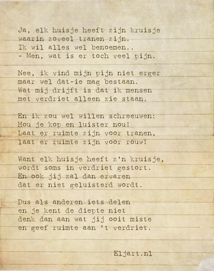 Prachtig gedicht door eljart.nl