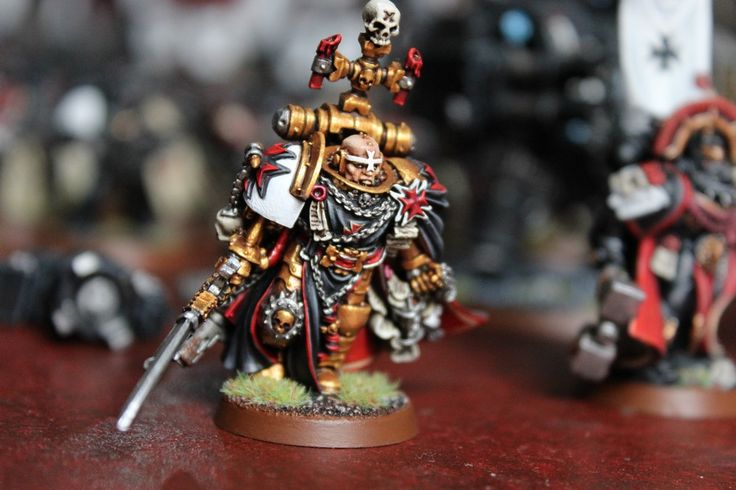 Space Marine High Marshall Helbrecht @ gold quality