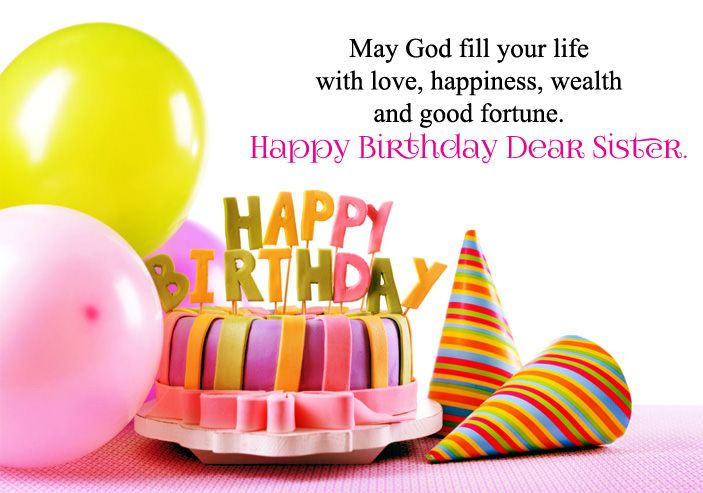 Astounding Happy Birthday Wishes For Sister Hd Images With Images Happy Personalised Birthday Cards Veneteletsinfo