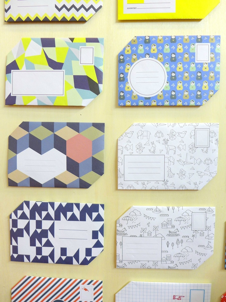 I want to make some envelopes!