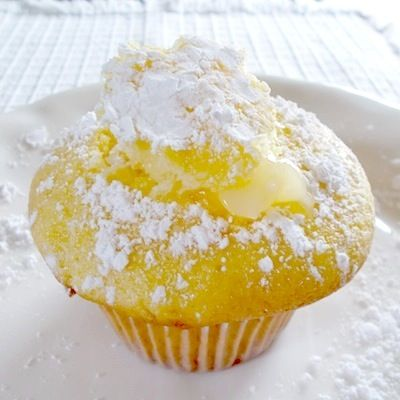 Lemon Filled Cupcakes Using Cake Mix