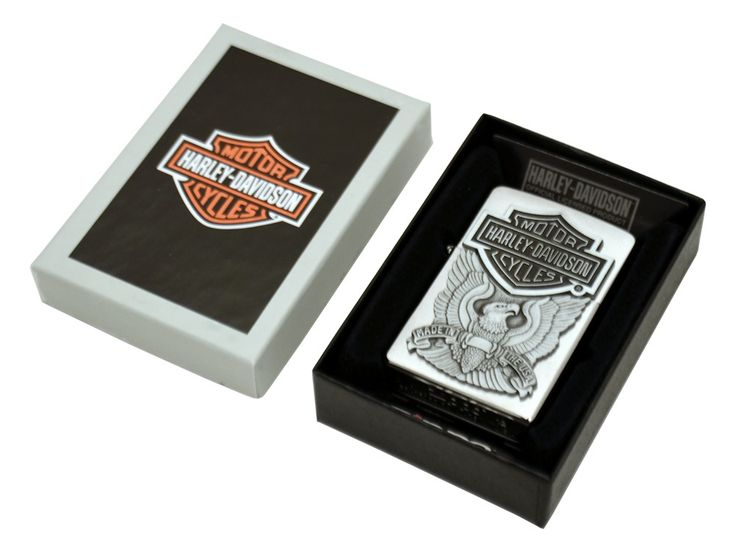 Are you searching trendy zippo? We get personal is the place where you can get trendy zippo harley davidson eagle emblem brushed chrome online at low price of £35.00 at wegetpersonal.co.uk. Choose your own engraving for the back side of the lighter.