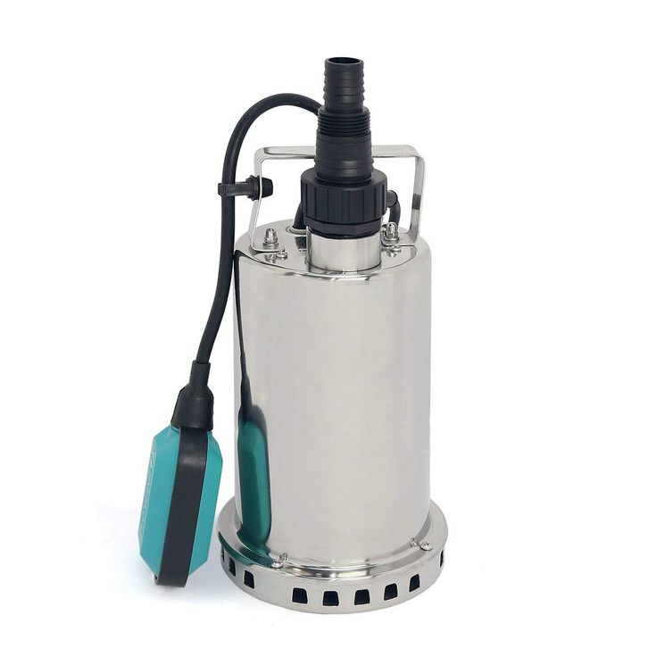 how to drain a pool with a sump pump