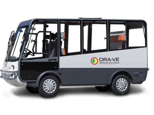Esagono Energia immatriculé route Microbus 7 places | ORA Véhicules Électriques