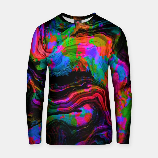 Painted Neon sweater by Fimbis   ________________________________ women, girls, boys, men, sweatshirt, abstract, surreal, fluid art, fluid painting, neon, blue, green, pink, black, vibrant, bright, purple, violet, orange, photoshop, fashion, fashionistas, fashionista, on trend,