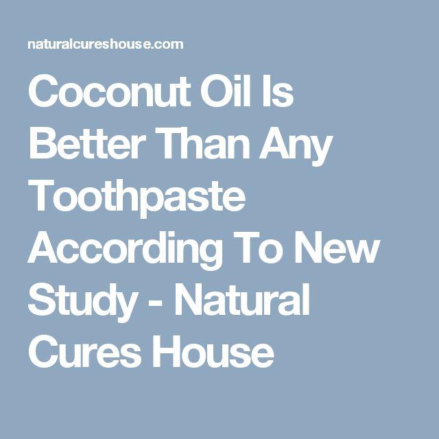 Coconut oil toothpaste 25 Pinterest