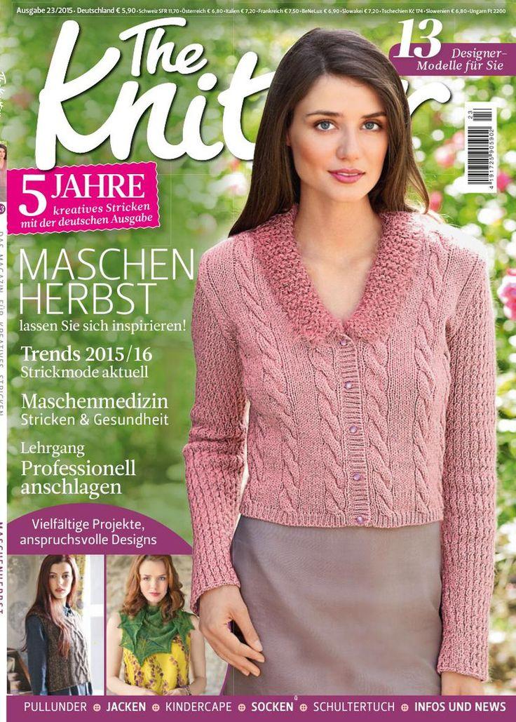 The Knitter №23 2015 - 轻描淡写 - 轻描淡写