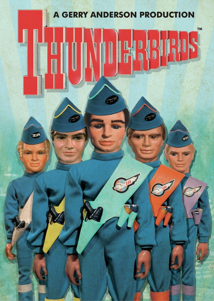 Tv show Thunderbirds are Go