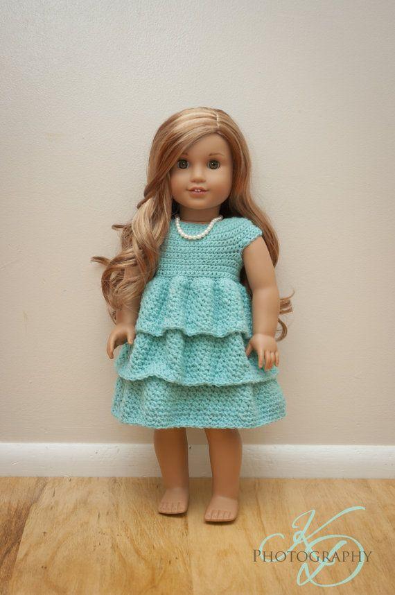 Best 25+ Crochet doll dress ideas on Pinterest Crochet ...