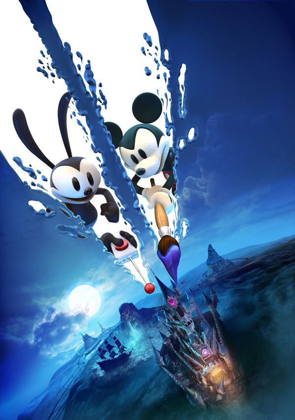 2012 Projects A, Epic Mickey 2 by Albert Co, via Behance