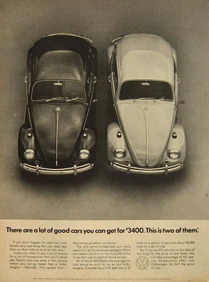1967 Vw Volkswagen Beetle Ad Good Cars For 3400 Volkswagoncliccars