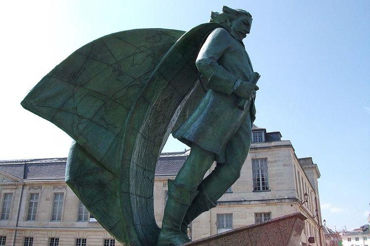 Statue de Jean Talon à Châlons-en-Champagne