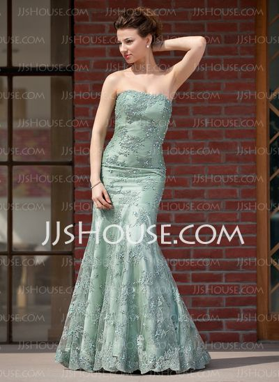 Mother of the Bride Dresses - $186.99 - Mermaid Sweetheart Floor-Length Charmeuse Lace Mother of the Bride Dress With Beading Sequins (008018957) http://jjshouse.com/Mermaid-Sweetheart-Floor-Length-Charmeuse-Lace-Mother-Of-The-Bride-Dress-With-Beading-Sequins-008018957-g18957