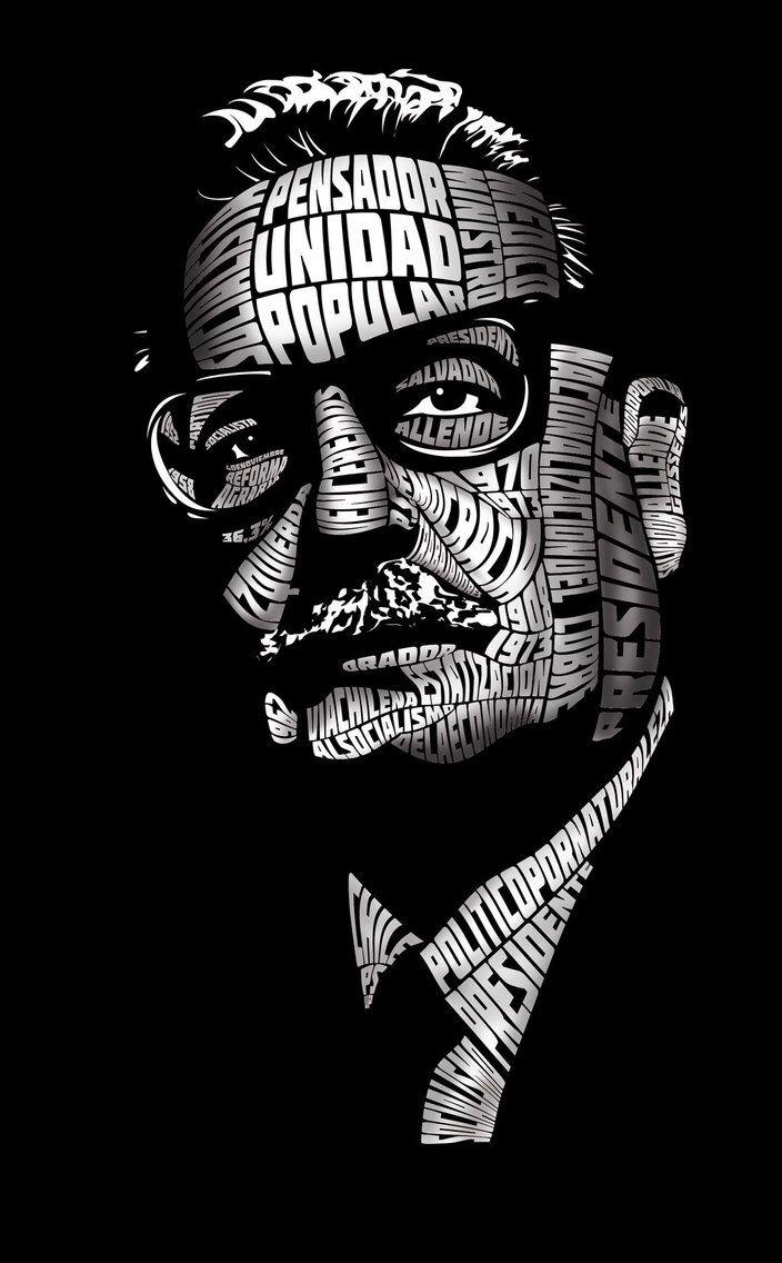 Salvador Allende by sarigueya on @DeviantArt