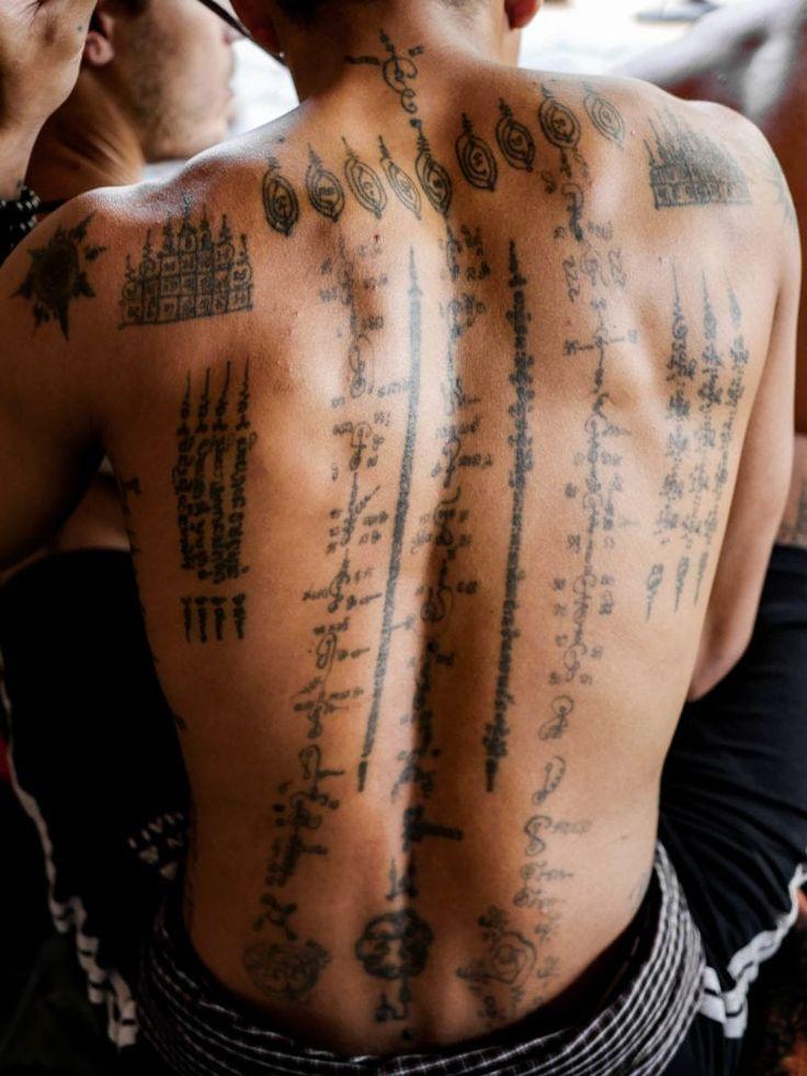 Sak Yant Tattoos in Kambodscha bekommen