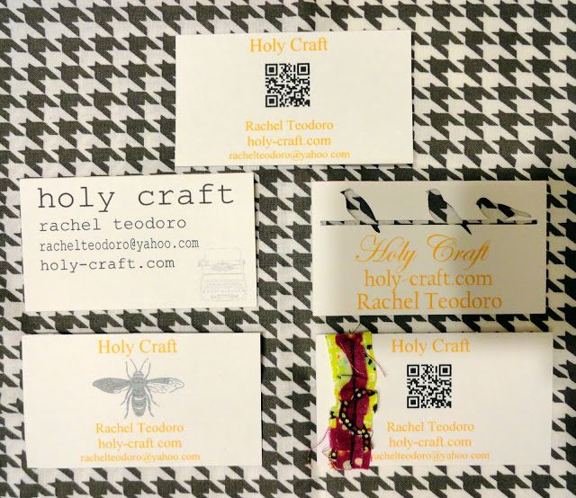 33 best Homemade Business Cards images on Pinterest