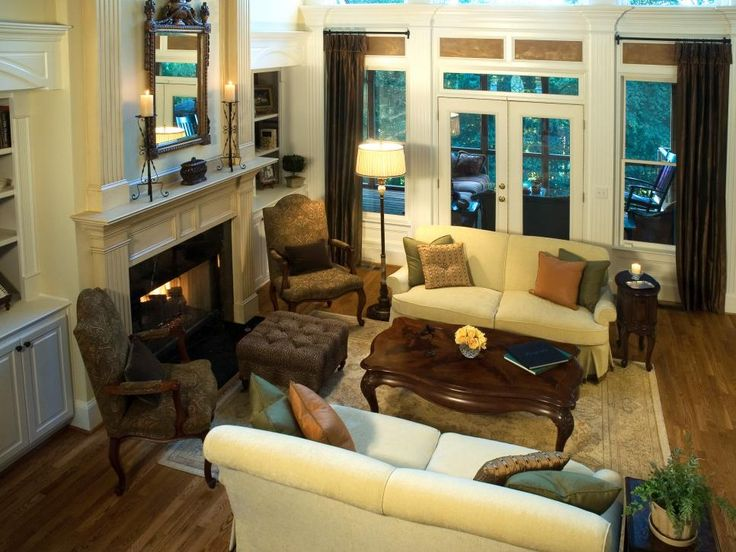 Living Rooms With Fireplaces Entrancing Decorating Inspiration