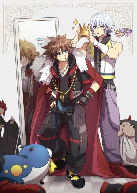Hail to the king<<<And roxas is in the mirror help i'm crying