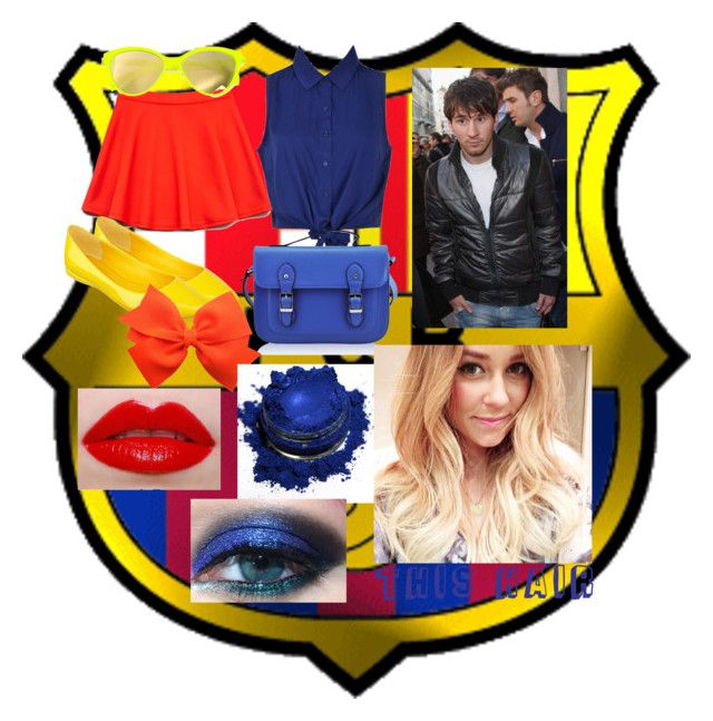 messi's girl by slytheriner on Polyvore featuring Forever 21, Nine West, FC Select Vegan Bags, Italia Independent, Lime Crime, Urban Decay and Lauren Conrad