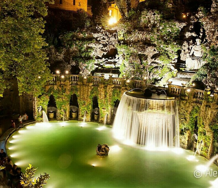 17 best images about tivoli on pinterest gardens night for Villa d este como ristorante