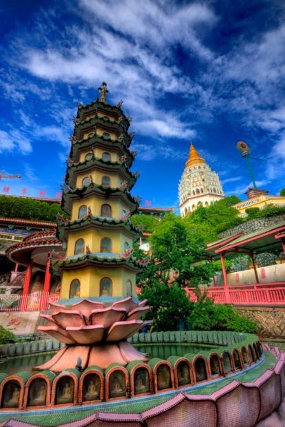 Kek Lok Si Temple. George Town, Penang.  #MalaysiaAus & #AirAsia