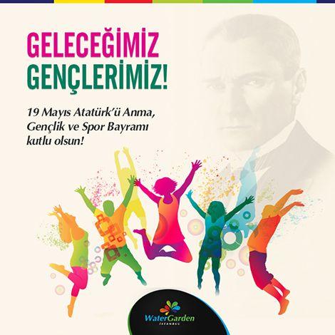 Tüm ulusumuzun 19 Mayıs Atatürk'ü Anma, Gençlik ve Spor Bayramı'nı kutlarız!