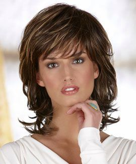 1000+ ideas about Medium Shag Hairstyles on Pinterest   Shag ...