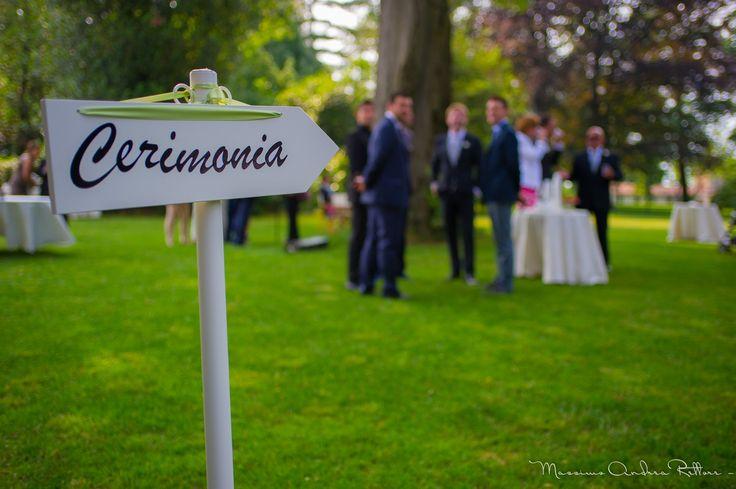 wedding sign, ceremony