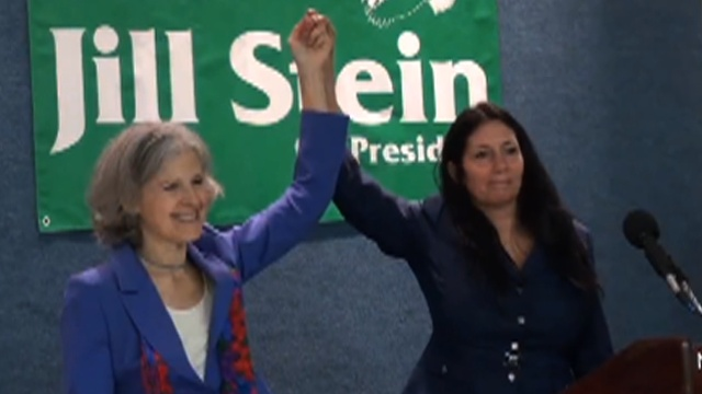 "Green Party Nominee Jill Stein & Running Mate, Activist Cheri Honkala: ""We Represent the 99 Percent"""