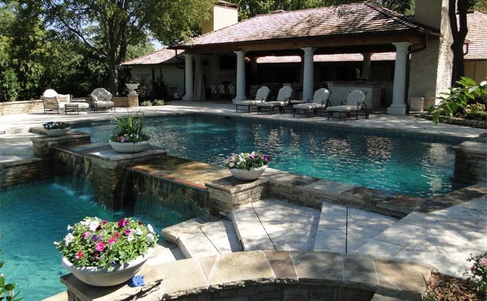 49 best pool water features images on pinterest swimming pools pools and swiming pool for Swimming pool builders fort worth