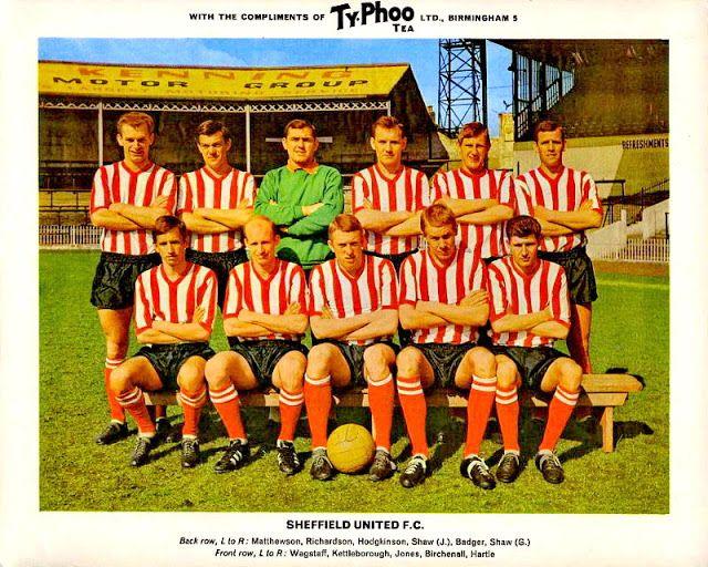 EQUIPOS DE FÚTBOL: SHEFFIELD UNITED en la temporada 1965-66
