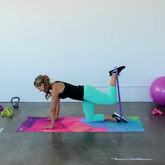 Full Body Resistance Band Loop Workout | Resistance band ab workout. Resistance band abs. Resistance band exercises