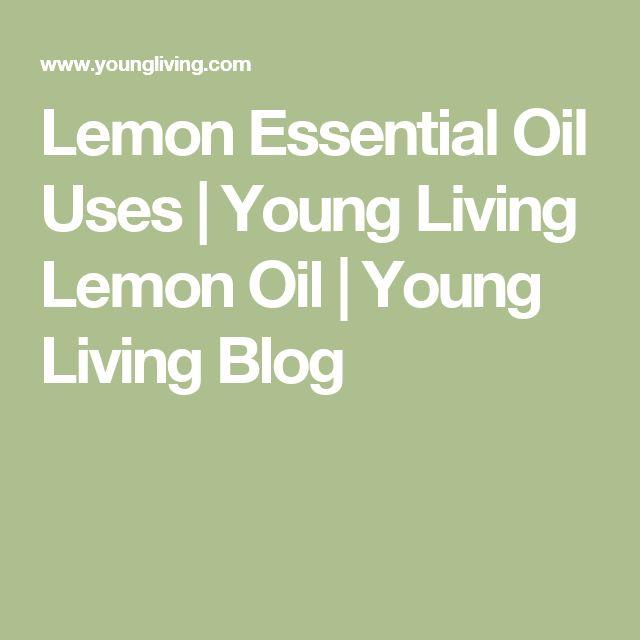 Lemon Essential Oil Uses | Young Living Lemon Oil | Young Living Blog