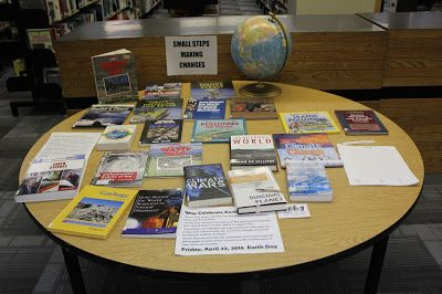 Carman Collegiate Library: Celebrate Earth Day April 22 and Every Day!