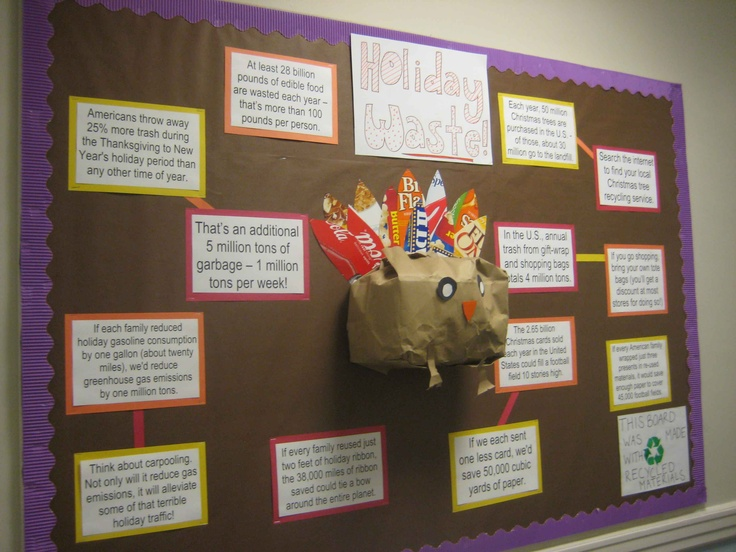 office bulletin board design. this is a bulletin board on recycling for third grade earth day corresponds office design