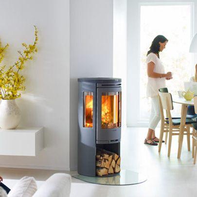 Wood Burning Stove: Contura 556 (Contura)
