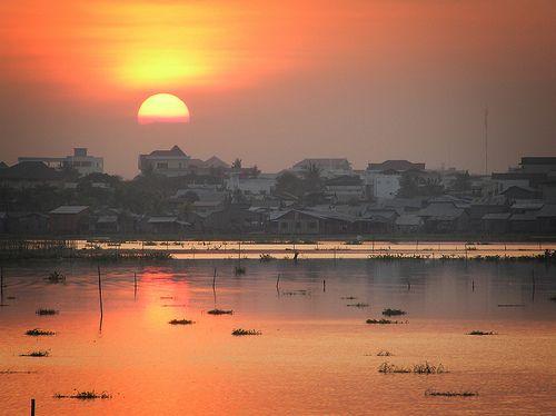 Sunset, Phnom Penh, Cambodia