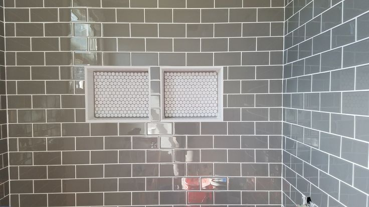 Metro Glass Subway Tile With 1 8 Inch Grout Lines Tiles