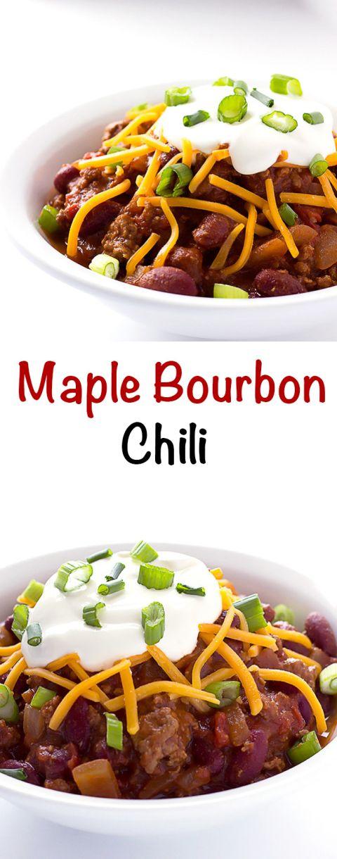 Maple Bourbon Chili