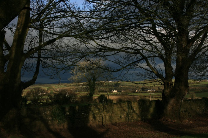 A view from Raheen Graveyard, Co. Limerick, Ireland. (Philip O'Rourke)