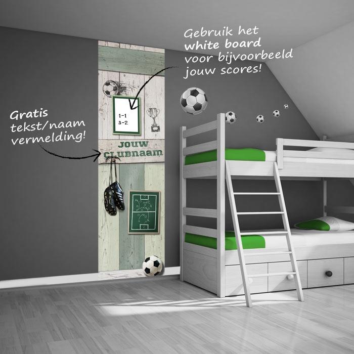ideeën over Voetbal Kamer op Pinterest - Voetbal Slaapkamer, Voetbal ...