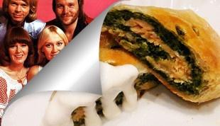 Strudel di spinaci e salmone alla Abba - Ricette Rock / Abba Strudel with Spinach and Salmon