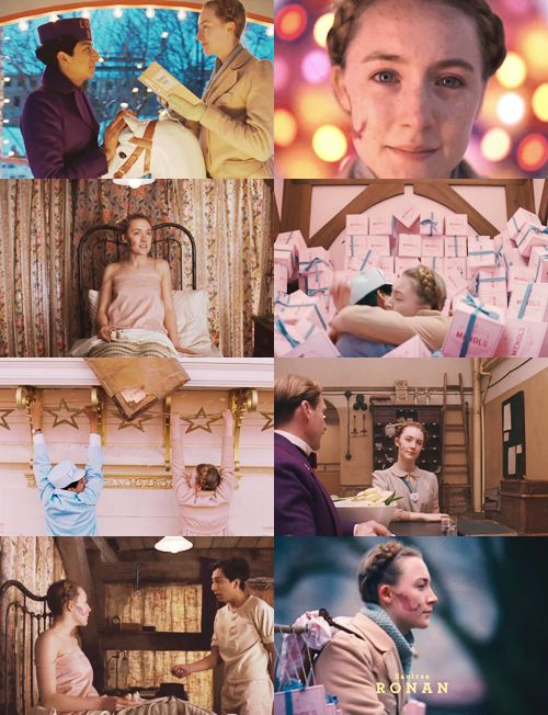 Saoirse Ronan as Agatha in THE GRAND BUDAPEST HOTEL
