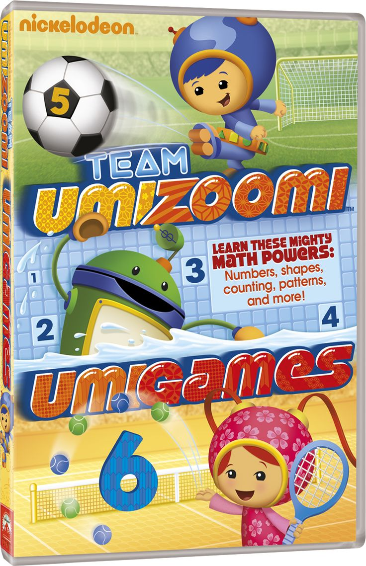 Team Umizoomi - Umigames - In DVD dal 23 luglio