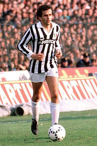Michael Platini at Juventus