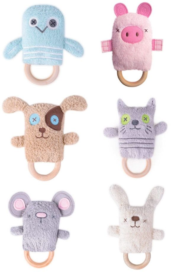 DINGaRINGS baby rattles, teethers, toys by O.B.Designs