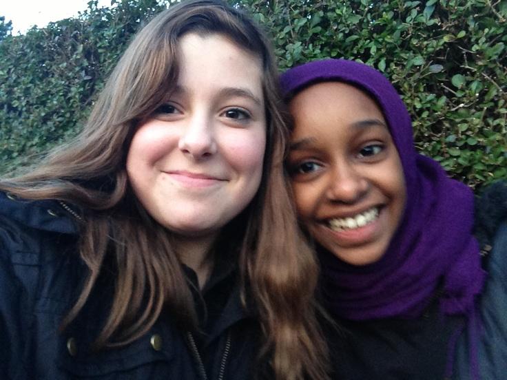 Me and Razan :)