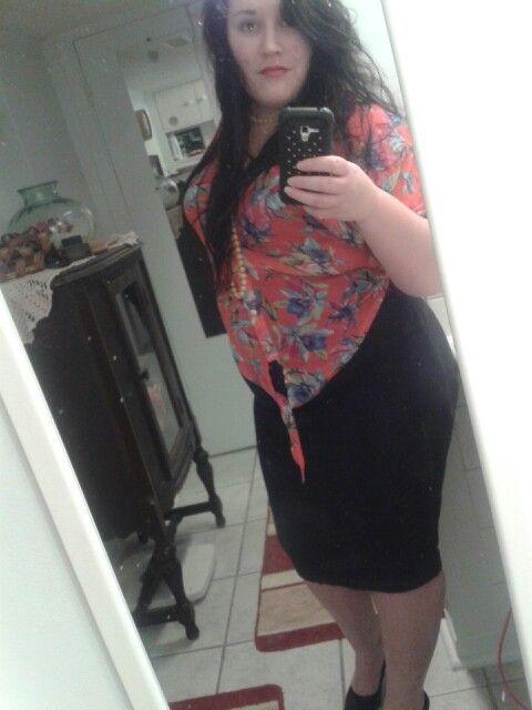 Home made skirt♥ #plusSize#dontcare#beauty#me#fashion