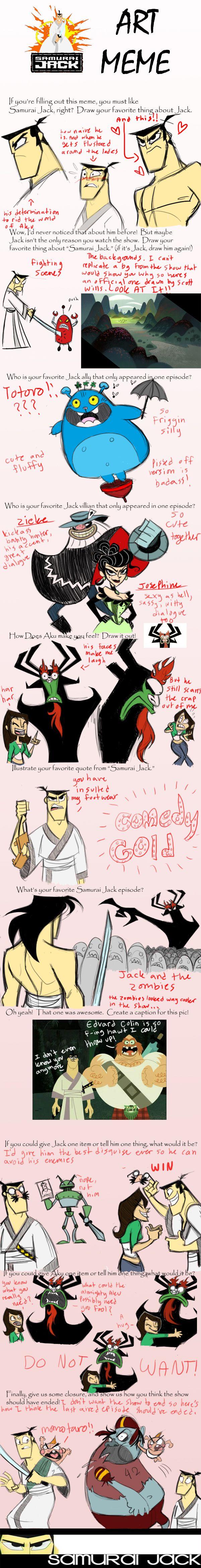 samurai jack meme by Kikoli.deviantart.com on @DeviantArt