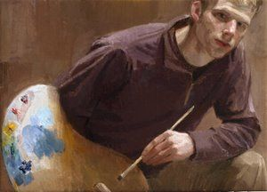 Ewan McClure, self-portrait